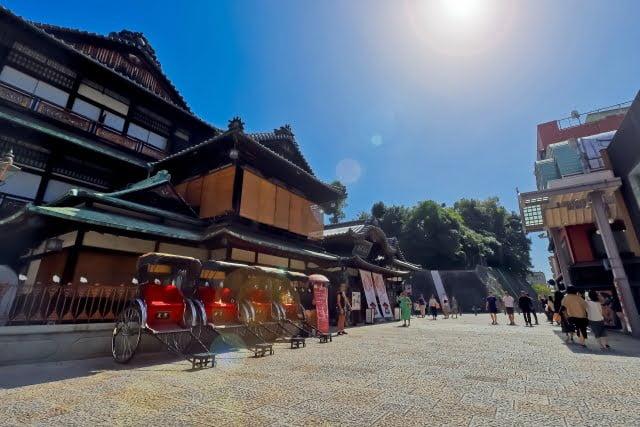 Ehime Prefecture Dogo Onsen