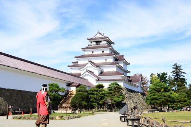 Fukushima Prefecture Aizuwakamatsu Castle