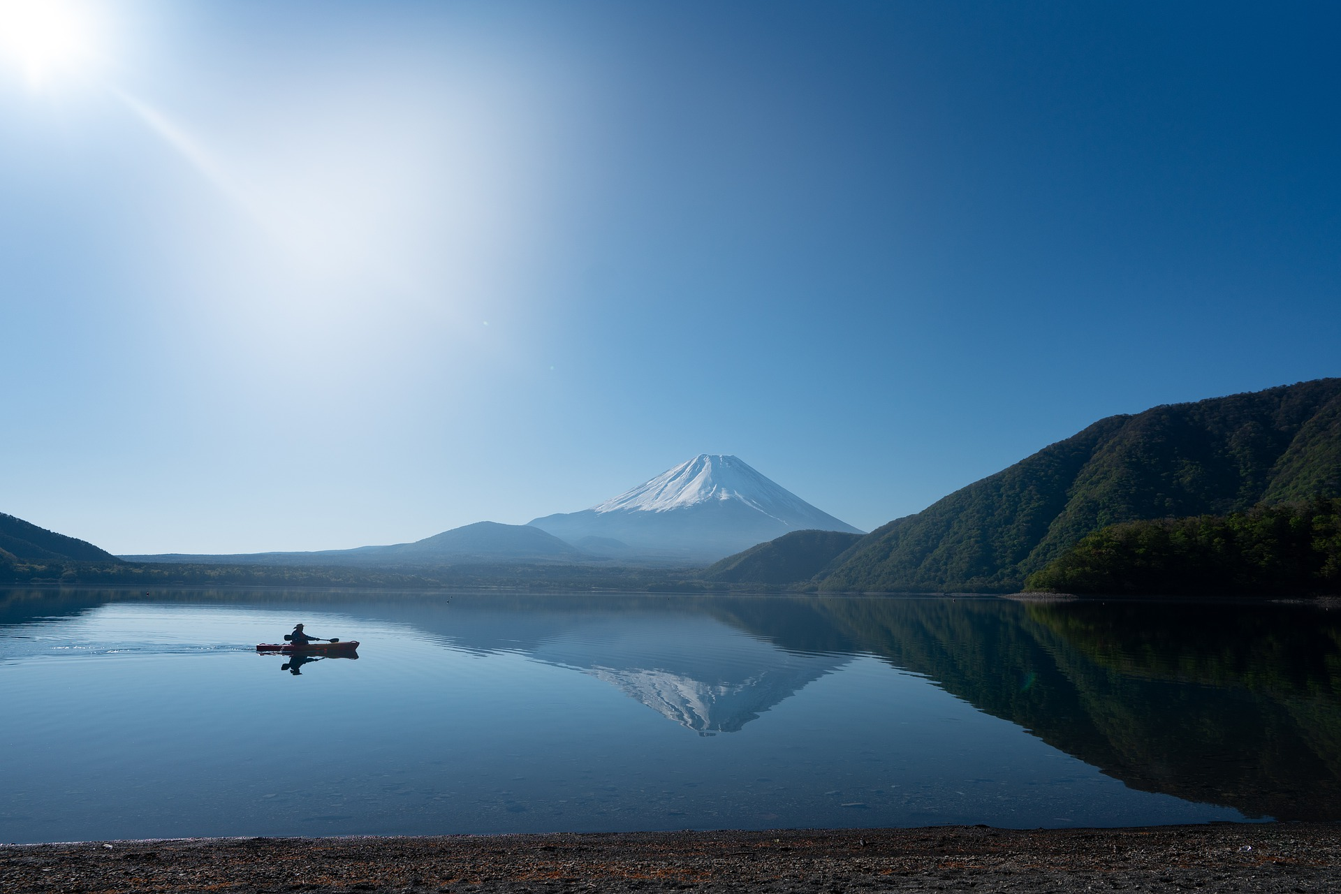Lake Motosu, Yamanashi Prefecture